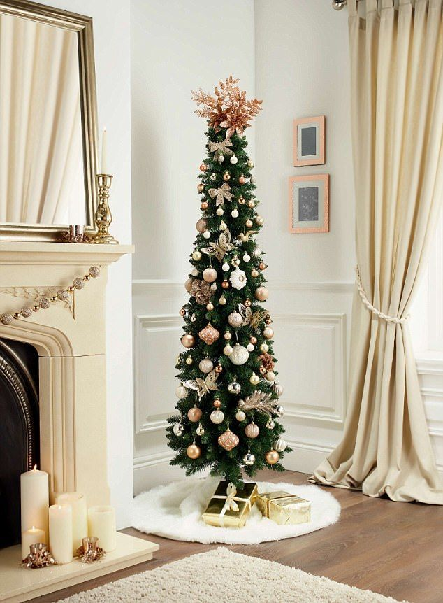 Can You Tell Which Christmas Trees Are Luxury Christmas Decorations For The Home Christmas Home Slim Christmas Tree