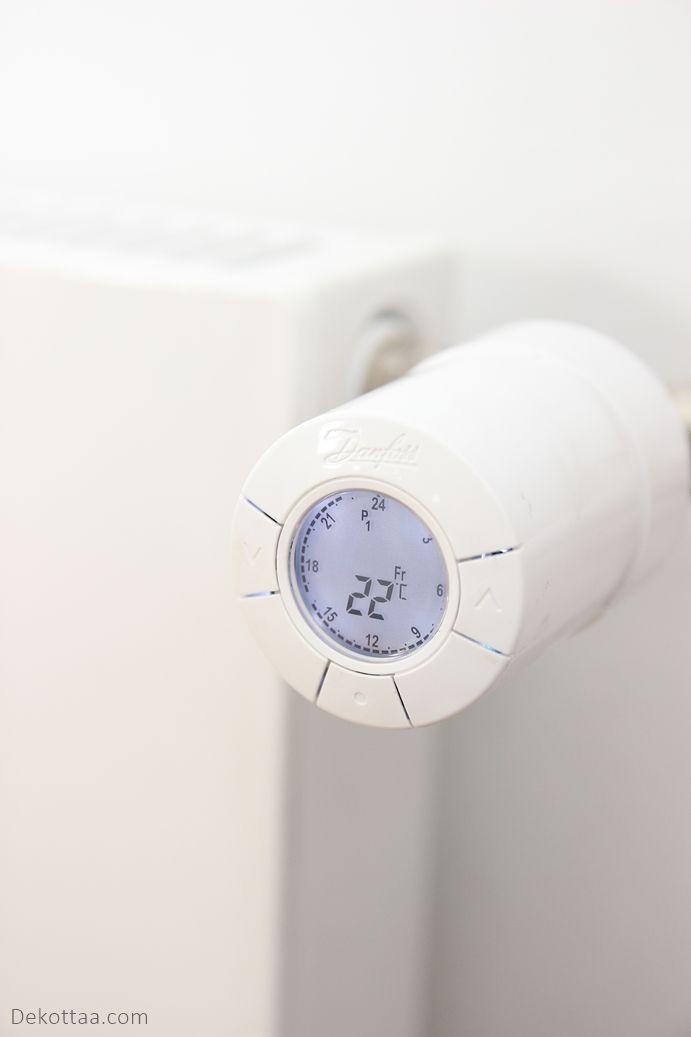 Dekottaa, digitaalinen termostaatti