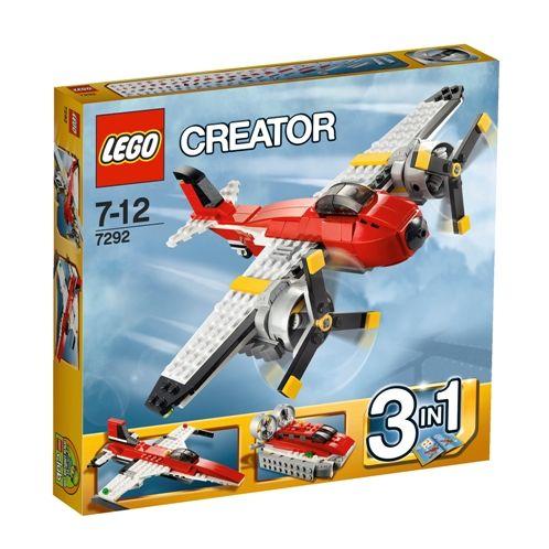 Z tych klocków można wyczarować: śmigłowiec, poduszkowiec i odrzutowiec! Lego Creator na pewno ucieszą wszystkich małych konstruktorów! :) Tylko w naszych salonach znajdziecie je w tak atrakcyjnej cenie – 59.99 zł!