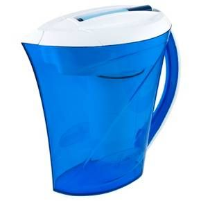 ZeroWater 10 Cup Ready Pour Pitcher with Free TDS Light-Up Indicator (Total Dissolved Solids) : Target Gets rid of Flouride!!!$
