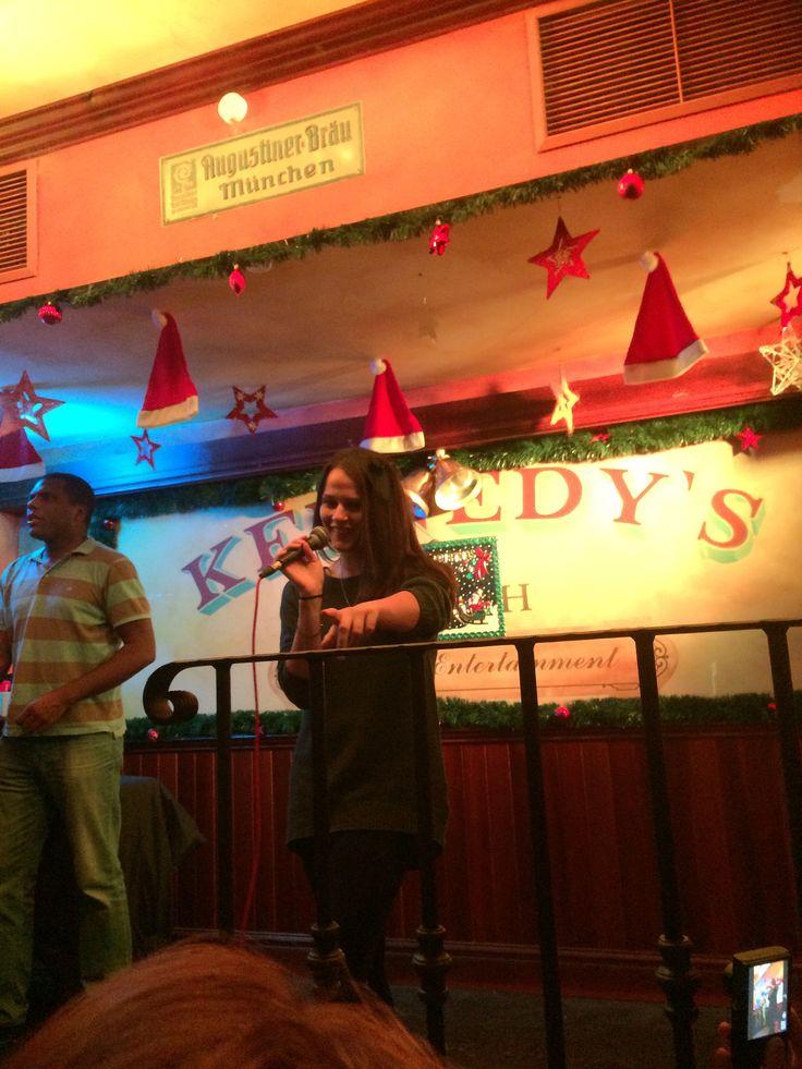 Karaoke in Munich @ Kennedy's.