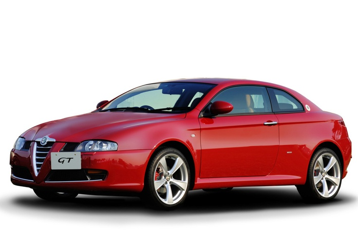 And now this's just some car in which I used to roll. In an Alfa Romeo GT.
