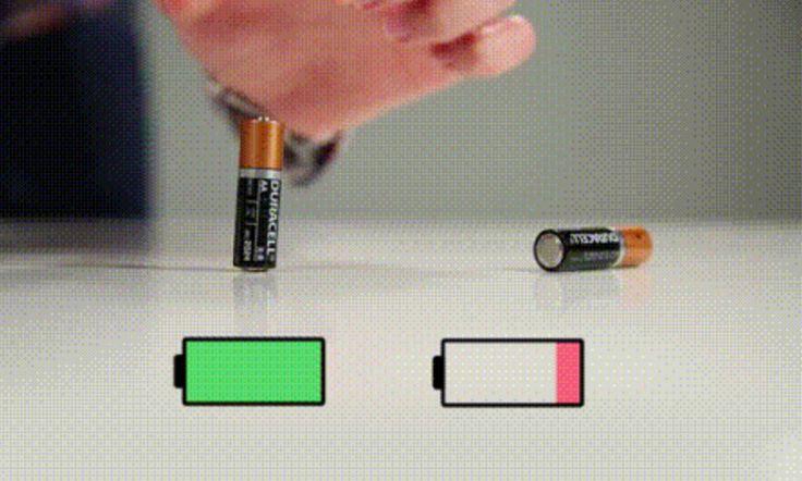 Testez cette astuce pour savoir si vos piles sont réellement mortes ou encore bonnes