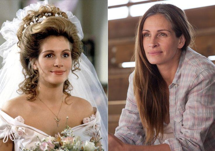 Julia Roberts, à 22 ans et à 45 ans : Avant/après : ces stars ont plutôt bien vieilli - Linternaute