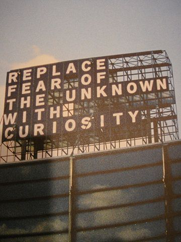 """Replace fear of the unknown with curiosity"" travel quotes travelquotes"