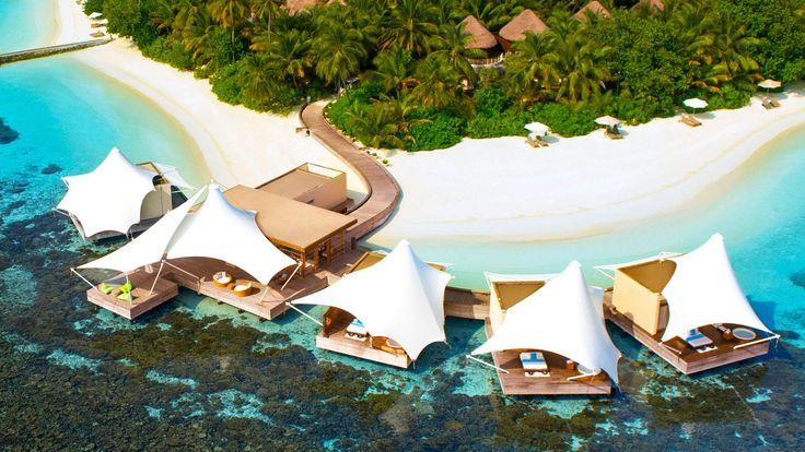 W Maldives Retreat & Spa - aerial view