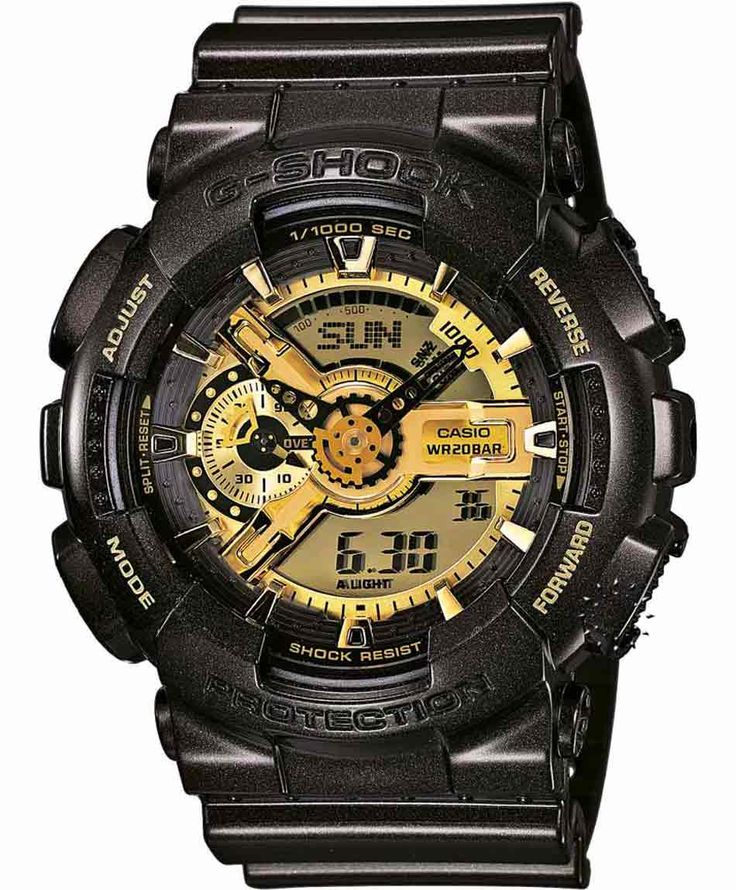 CASIO G-SHOCK Anadigi Black Rubber Strap Η τιμή μας: 172€ http://www.oroloi.gr/product_info.php?products_id=35110