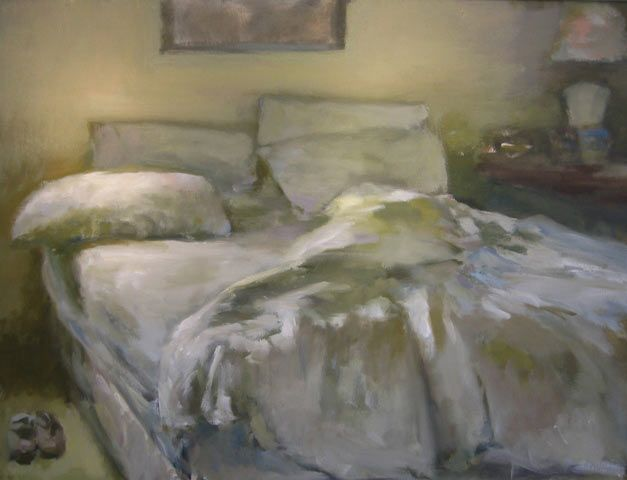 Unmade Bed - Marc Whitney. This makes me sleepy. Which means it might be good in my bedroom!