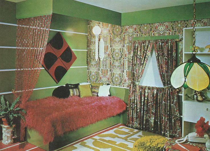 113 best Retro Bedroom Decor from Seventeen and other magazines