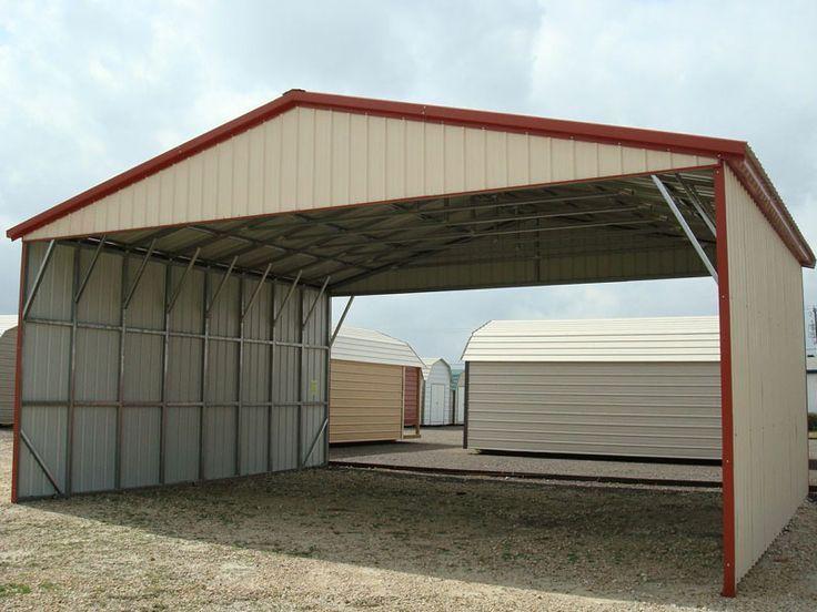 56 best carports images on pinterest metal buildings for American garage builders