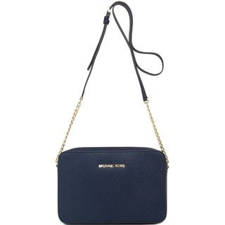 Shop for MICHAEL Michael Kors Jet Set Navy Crossbody Bag and more for everyday discount prices at Overstock.com - Your Online Handbags Store!