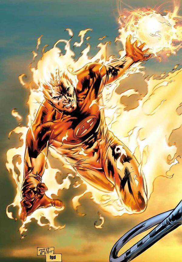 marvel human torch | Marvel vs Manga Series #2 ( Human Torch vs Natsu Dragneel)