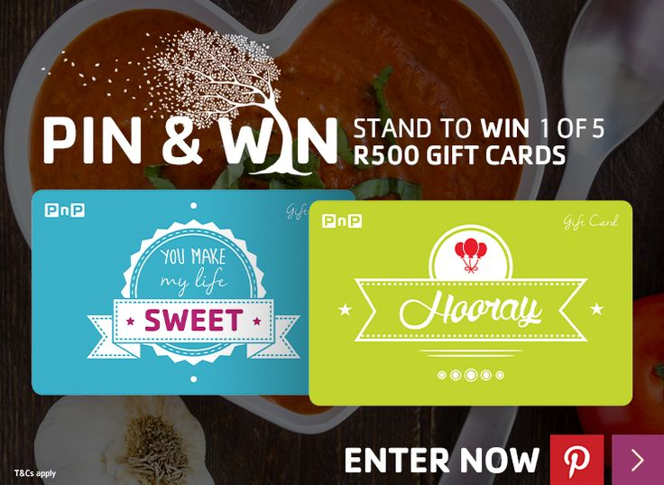 Pin & Win | Winter 2015 | Pick n Pay