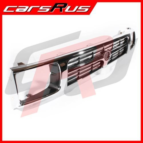 Toyota-Hilux-94-95-96-97-2WD-Ute-Front-Chrome-Black-T-Bar-Grill-Grille-New