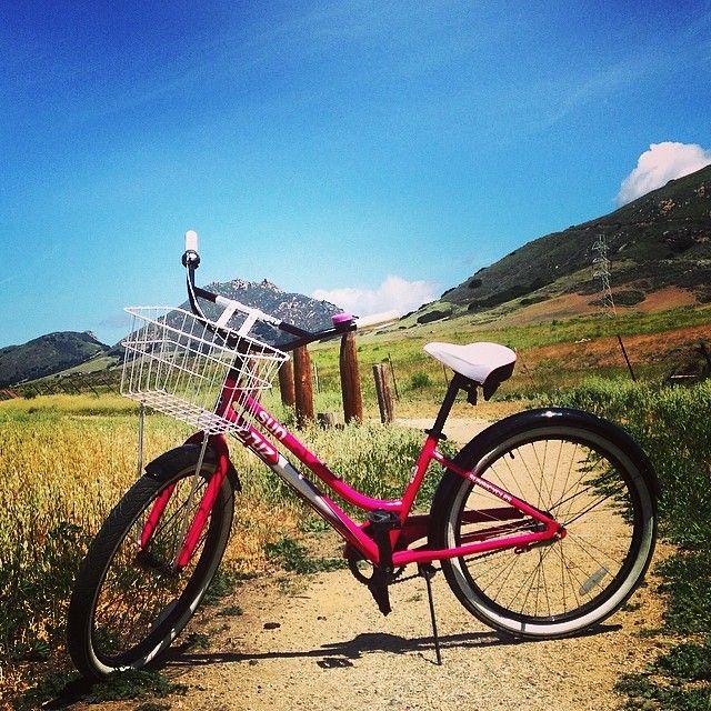 Pink Bikes about town #madonnainn #sanluisobispo #california #centralcoast #activities #fun #familyfun #familyvacation