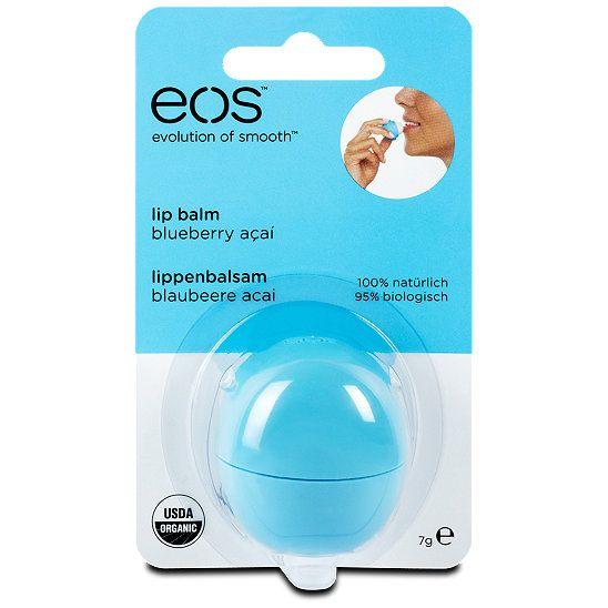 eos Lippenbalsam Blaubeere Acai, Geschmack: Blaubeere Acai, Lippenpflege bei dm drogerie markt.