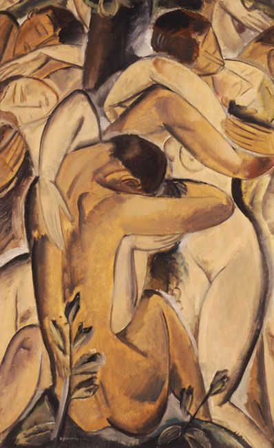 Gounaropoulos Georgios- (1890 - 1977) - Nudes embraced. 1914- National Gallery Museum of Athens