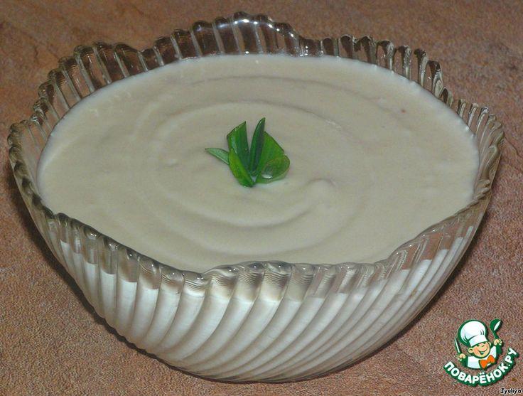 Фасолевый соус, почти как майонез ингредиенты