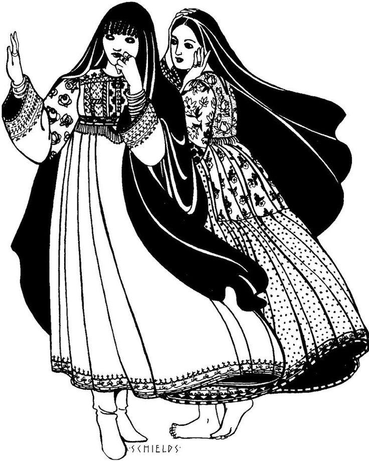 107 Afghan Nomad Dress – Folkwear