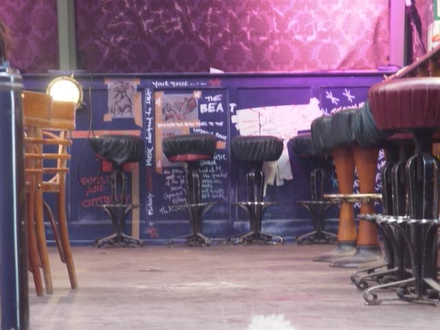 Peppe Jeans Indogo Room denim stools