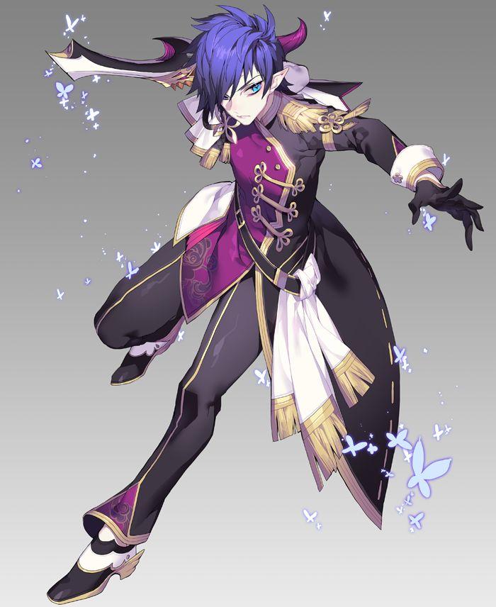 Character Design Artist Job Description : Elf fighter mage or rogue player character designs