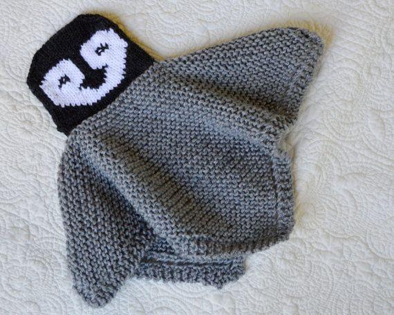PDF Knitting Pattern HugKnit PENGUIN Security blanket ...
