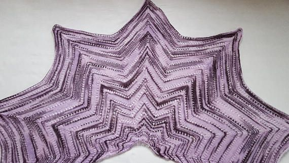 Gift for mom Shawl Wrap shawl Soft A gift for her Knitted