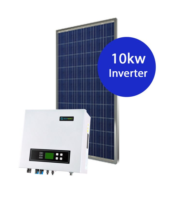 10kw System 32 x 315w Simax panels 10kw Tranenergy inverter