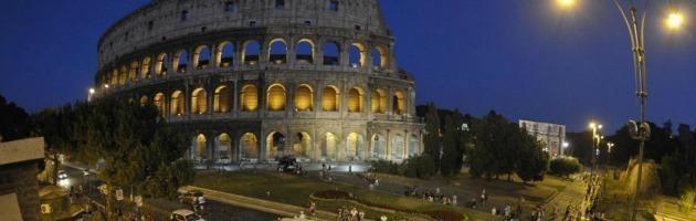 La Luna sul Colosseo. Dal 70 d.C.