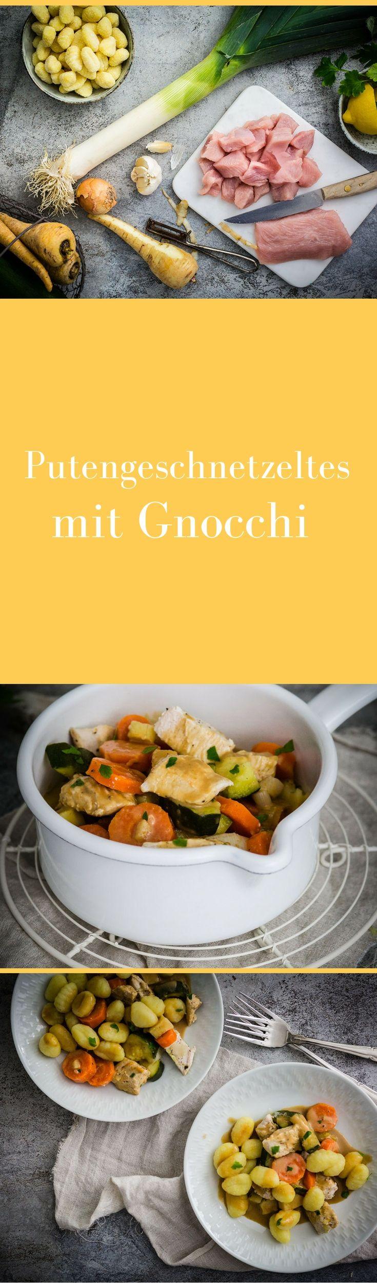 Ein tolles Rezept für Putengeschnetzeltes auf www.jokihu.de