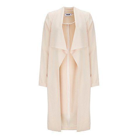 Wallis Blush duster coat | Debenhams