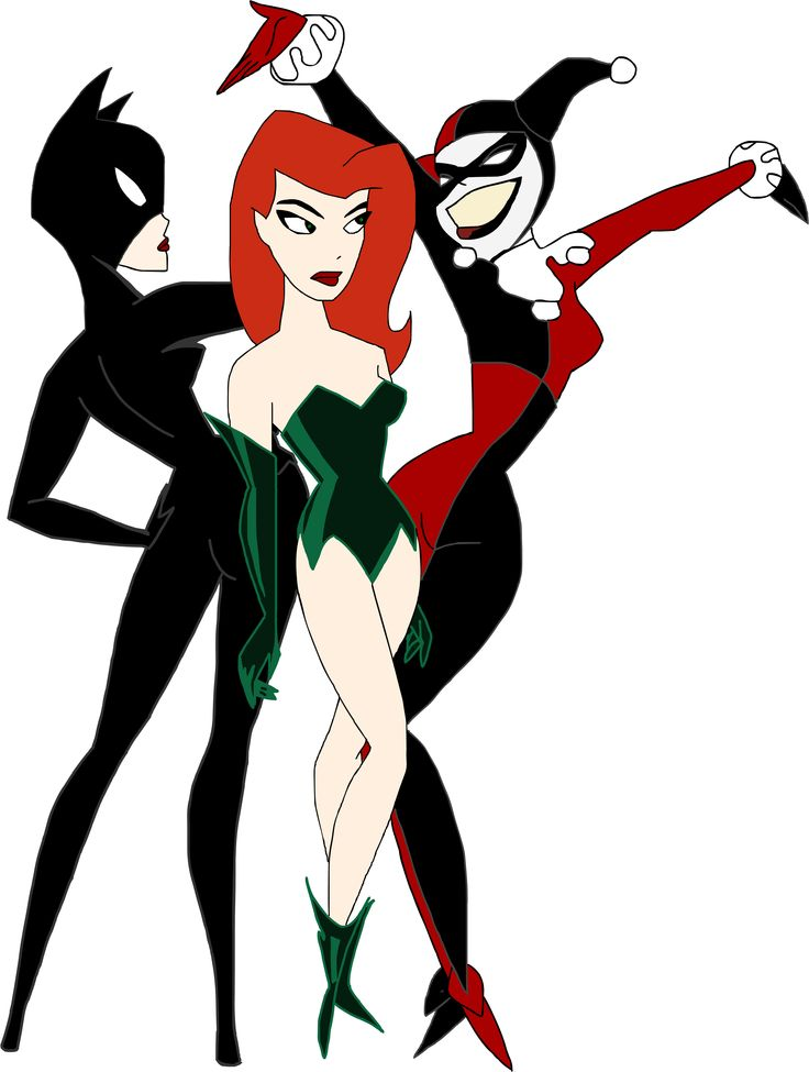gotham_girls_by_kim_possible333-d4aage2.png 2,942×3,899 pixels