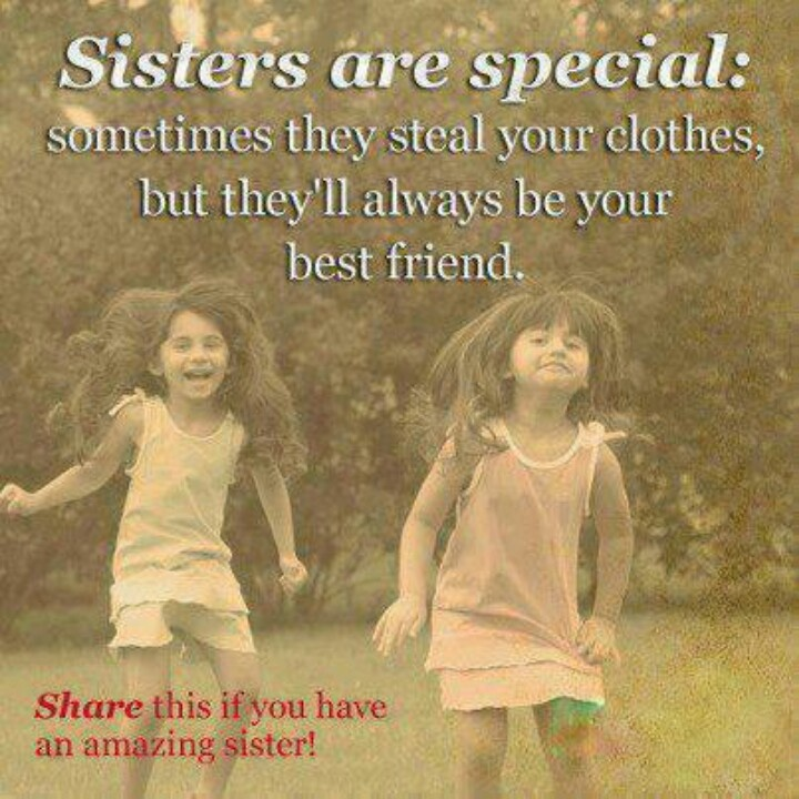 Sisters Love Quotes: Love My Little Annoying Sister!!!