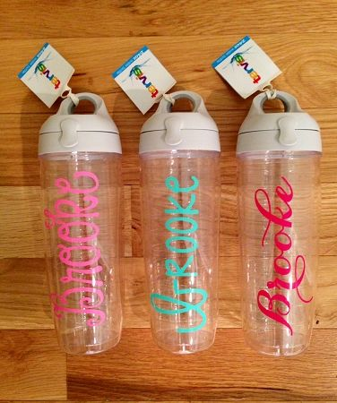 24 oz personalized Tervis water bottle with lid                                                                                                                                                      More
