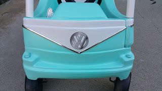 Cozy Coupe Make Over Little Tikes Volkswagen VW bug Bus DECALS