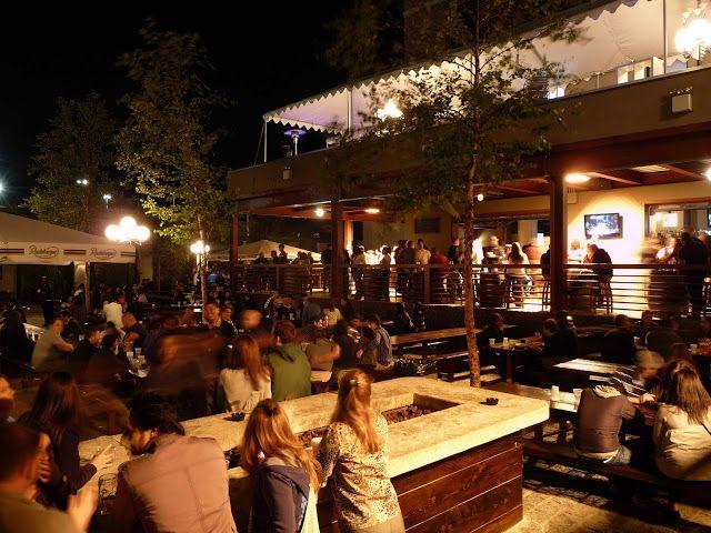 Interesting Modern beer garden
