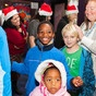 Venice Family Clinic's Children's Holiday Movie Event 2012 at Laemmle Santa Monica.