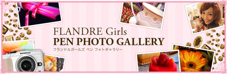 FLANDRE GIRLS PEN PHOTO GALLERY (フランドルガールズ ペンフォトギャラリー)