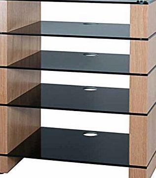 BLOK Hi-Fi Stands Hifi Stand, Hi-Fi Rack, AV Audio Stand. Oak with Five Black Glass Shelves No description (Barcode EAN = 5060454270485). http://www.comparestoreprices.co.uk/december-2016-week-1-b/blok-hi-fi-stands-hifi-stand-hi-fi-rack-av-audio-stand-oak-with-five-black-glass-shelves.asp