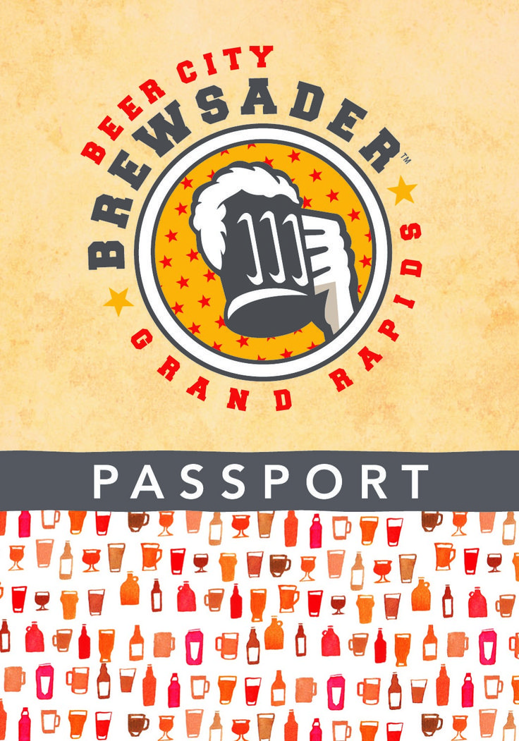 """Become+a+""""Brewsader""""+with+the+Grand+Rapids+Beer+City+Passport"""