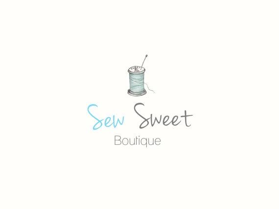 Premade Logo & Watermark / Sew Sweet Design 703 / by kellybermudez