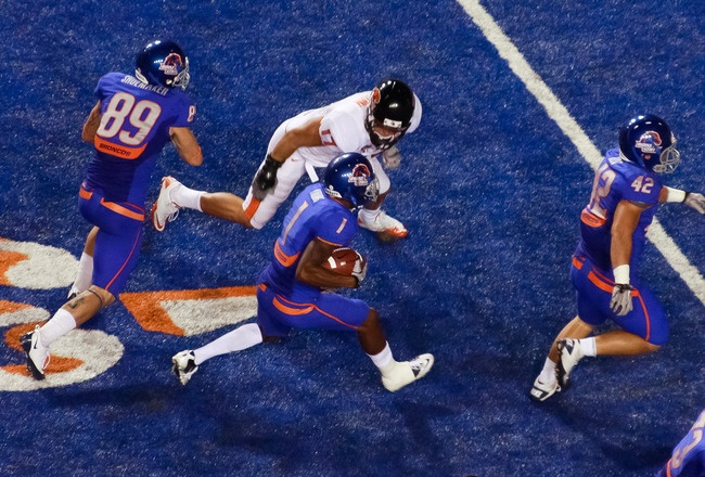 Boise State 2011 Schedule Released Ole Miss, Nevada
