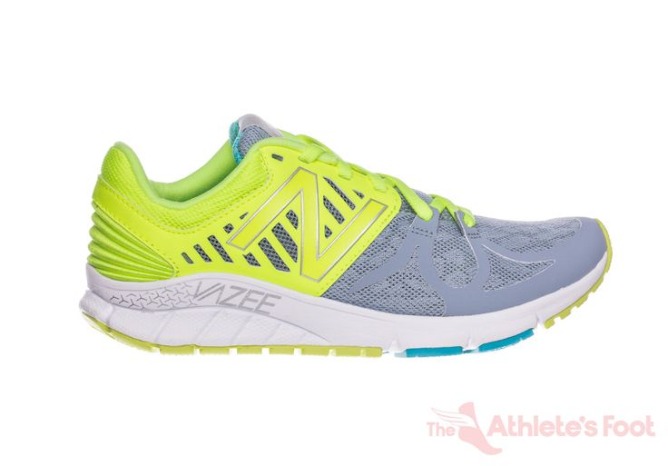 New Balance W Vazee RUSHBG B yellow blue white womens running shoes | The Athletes Foot NZ - The Athlete's Foot