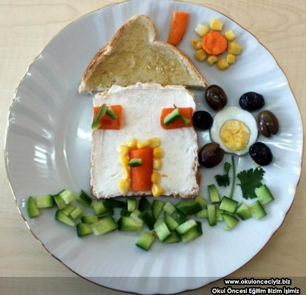 çocuk için kahvaltı — Resimli Yemek Tarifleri
