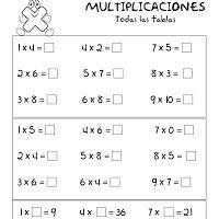 Best 25 Ejercicios tablas de multiplicar ideas on Pinterest