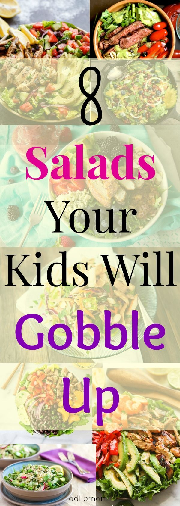 Hearty salads that your kids will eat.