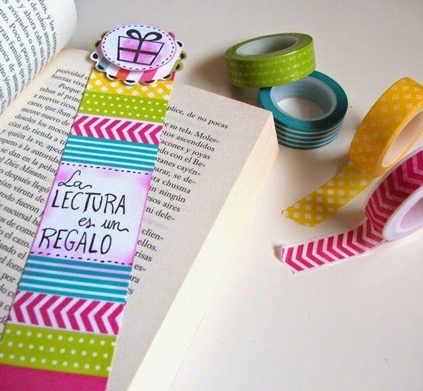 Rakel entre papel: DIY Marcapáginas para el día del Libro