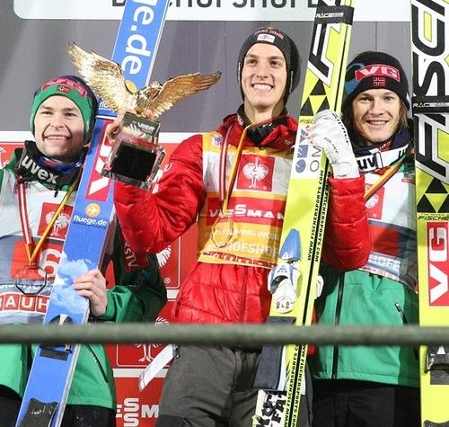 Anders Jacobsen, Gregor Schlierenzauer, Tom Hilde