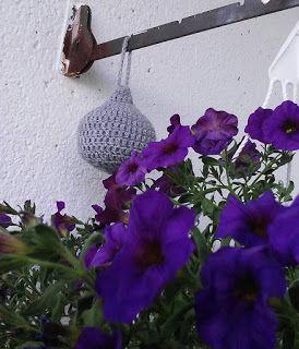 Mariannelin maailma: DIY virkattu ampiaispesä