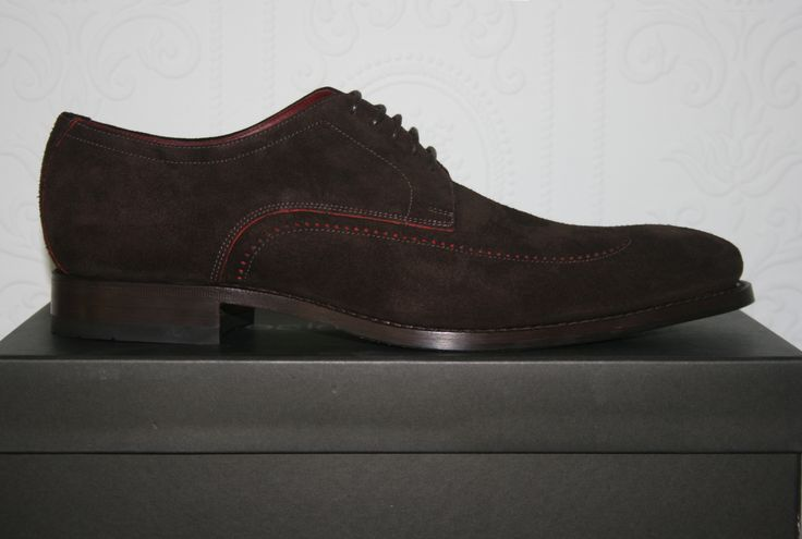 Loake Victor is a stylish derby shoe made from soft calf or suede leathers.  It is available in three separate colours.  http://www.robinsonsshoes.com/loake-victor.html